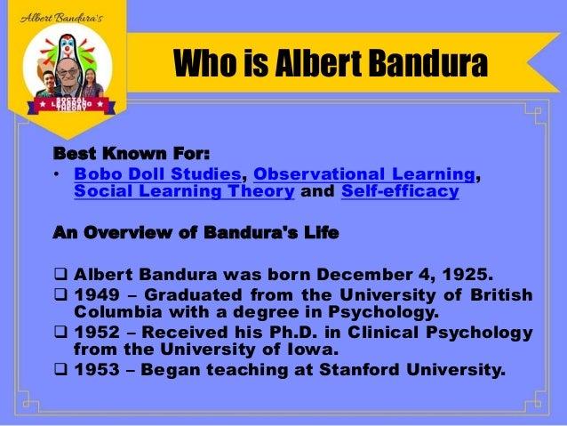banduras social learning theory
