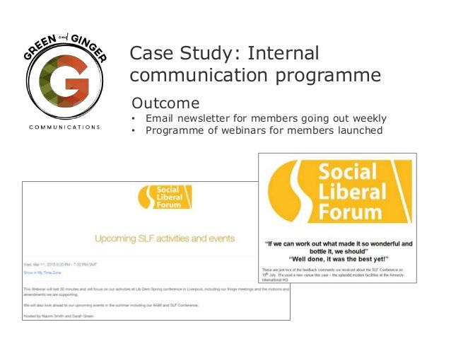 Internal Communication Case Studies