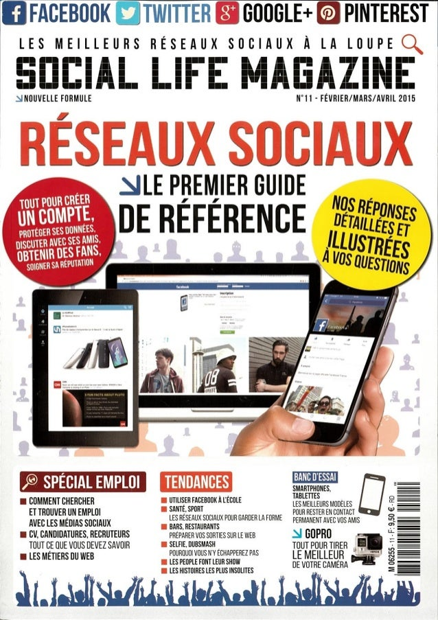 Les reseaux sociaux professionnels pour lutter contre le chomage (Social Life Magazine)