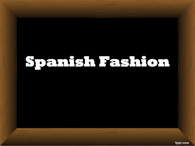 The Spanish Colonial Tradition
