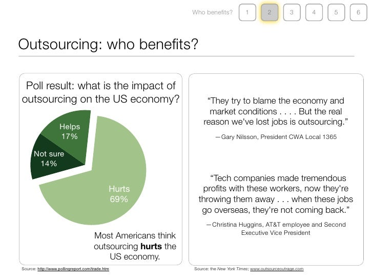impact of outsourcing on economy