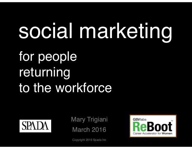 Social marketing, digital overthrow, and you Slide 2