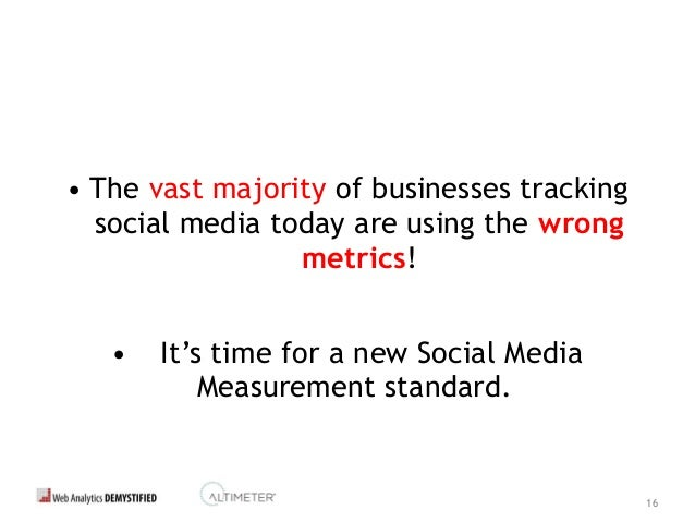 17 Introducing... • Social Marketing Analytics is the discipline that helps companies measure, assess and explain the perf...