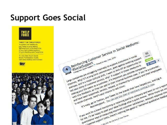 43 Support Requires… • Resolving service issues through social media channels via direct company response and crowd-sourci...