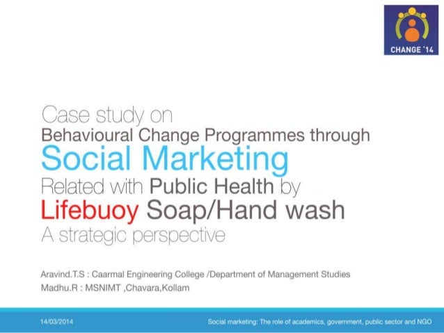 Social marketing Case study