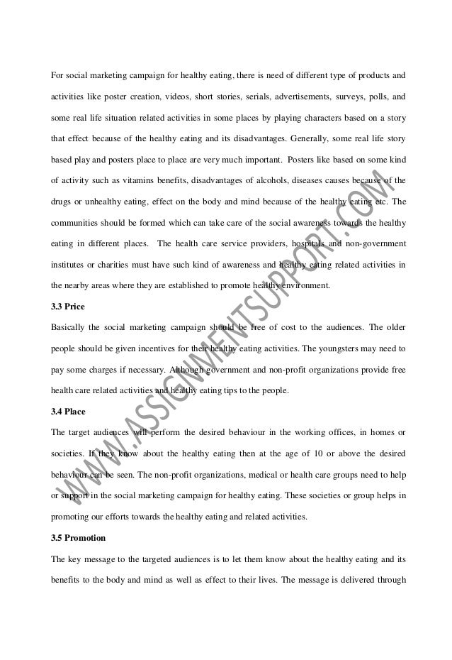English As A Global Language Essay Fig Benefits Of Healthy Foods That Contains Vitamins Source National  Health Survey Uk  English Essay Short Story also Thesis Statements Examples For Argumentative Essays Social Marketing Campaign Essay Sample From Assignmentsupportcom Ess Response Essay Thesis