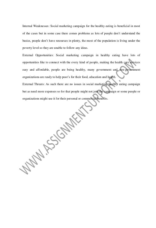 social marketing campaign essay sample from assignmentsupport com ess  4
