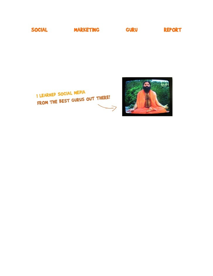 SOCIAL   MARKETING   GURU   REPORT