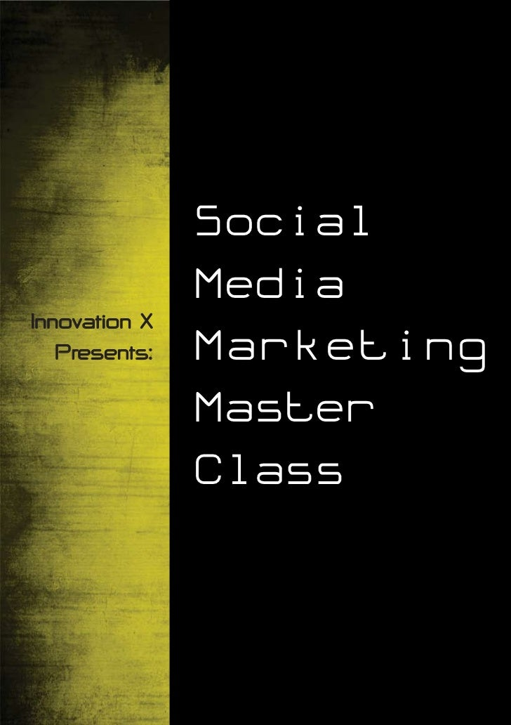 Socialize - Social Media Marketing Master Class in Singapore