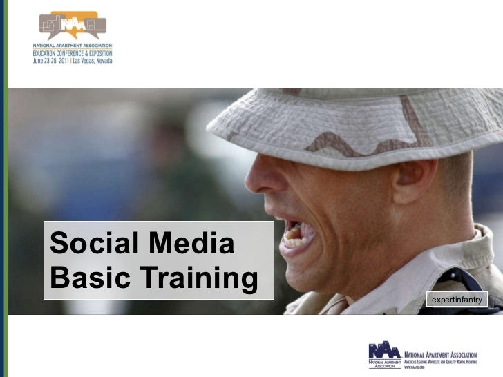 Social Media Markting for Military Housing: Presented at NAA 2011 Slide 3