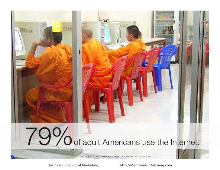 79%              of adult Americans use the Internet.                        SOURCE: PEW INTERNET & AMERICAN LIFE PROJECT,...