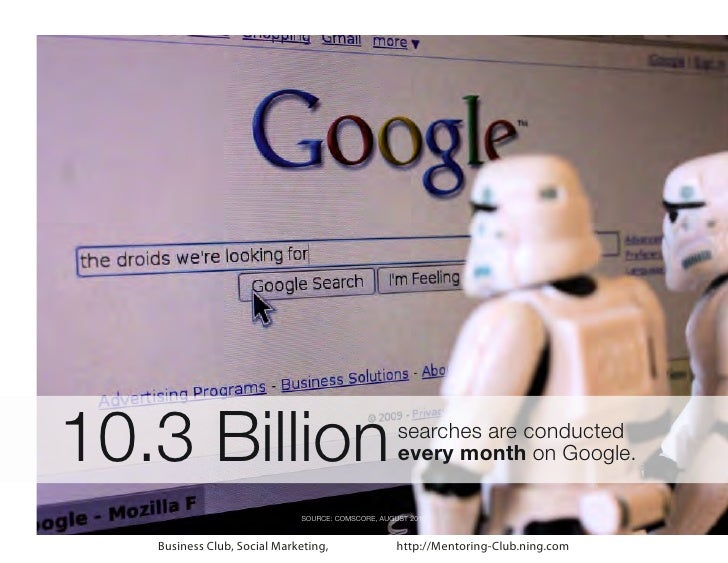 10.3 Billion                                       searches are conducted                                                 ...