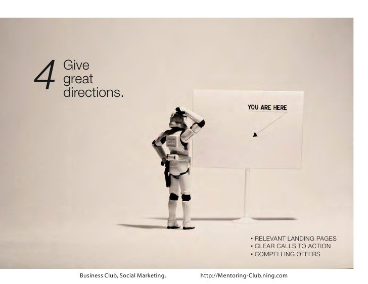 4   Give    great    directions.                                                            RELEVANT LANDING PAGES        ...