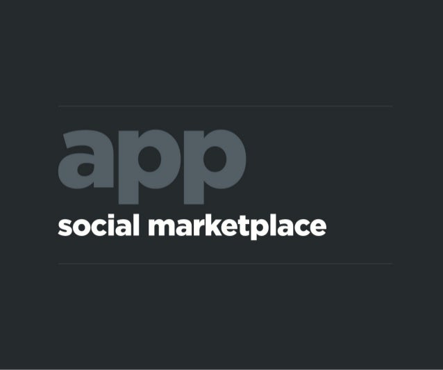 Social Marketplace