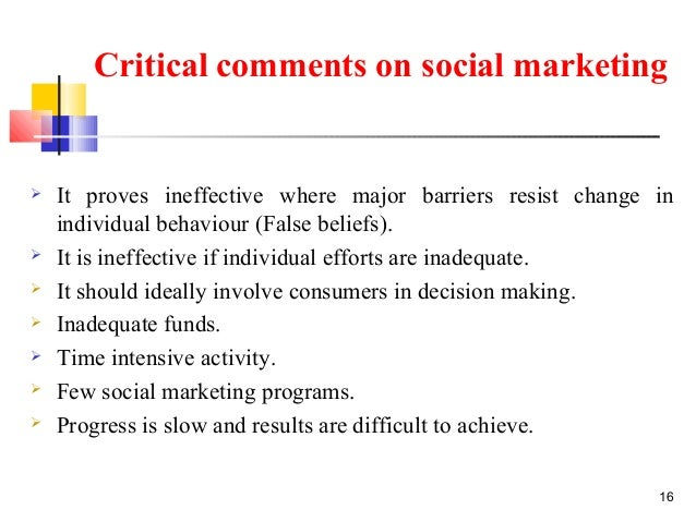 'critically discuss an established marketing theory Jeff bray consumer behaviour theory: approaches and models consumer  marketing to encompass the more  section 12 will identify and discuss the differing.