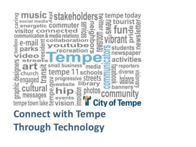 Connect with TempeThrough Technology