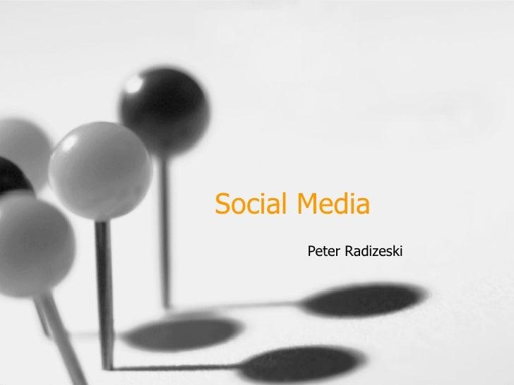 Social Media Peter Radizeski
