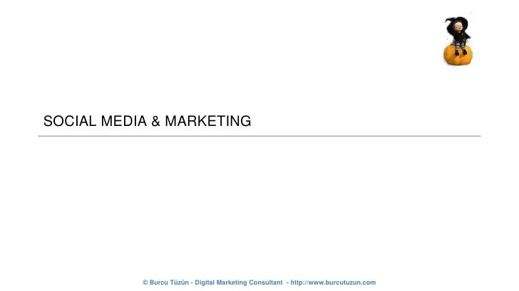 SOCIAL MEDIA & MARKETING<br />