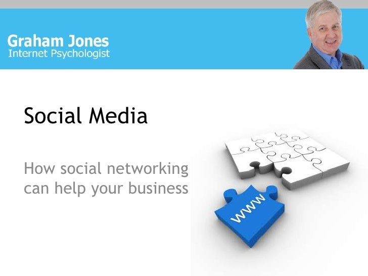 Social Media<br />How social networking can help your business<br />