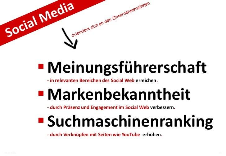 Welche Ziele – Welche Tools?         Social Media Tools   Meinungsführerschaft   Suchmaschinenranking   Markenbekanntheit0...