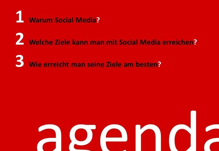 Warum Social Media?