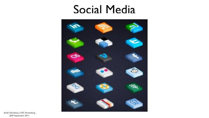 Social Media & Journalism (Pt. I) - Sept 2011