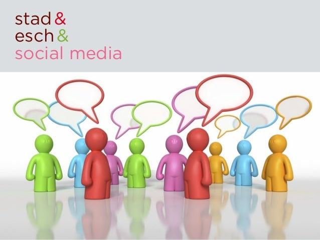 stad &esch &social media