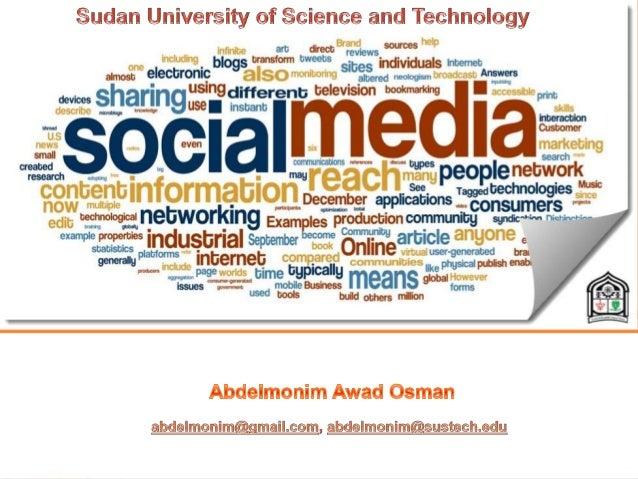 PAL  Purpose – To understand concepts of Social Media  Agenda  Social Media and Social Networking  Social Media Vs. So...
