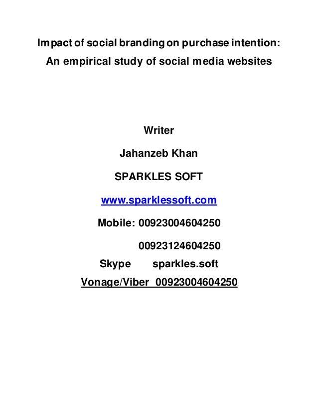 An Empirical Study of Social Networking Behavior Using ...