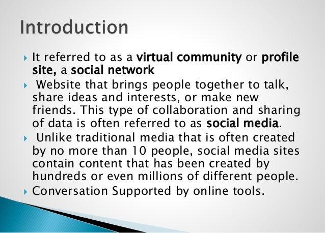 Social Media and its Dynamics Slide 3