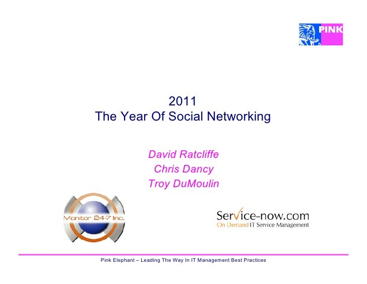 2011The Year Of Social Networking                 David Ratcliffe                  Chris Dancy                 Troy DuMoul...