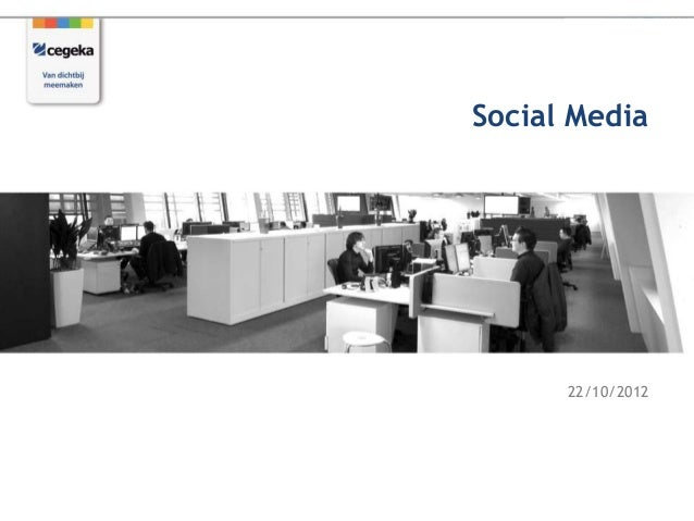 Social Media      22/10/2012
