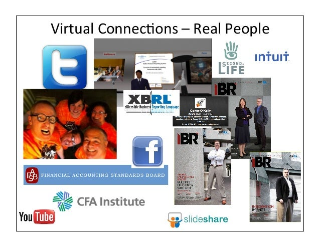 Virtual ConnecAons – Real People