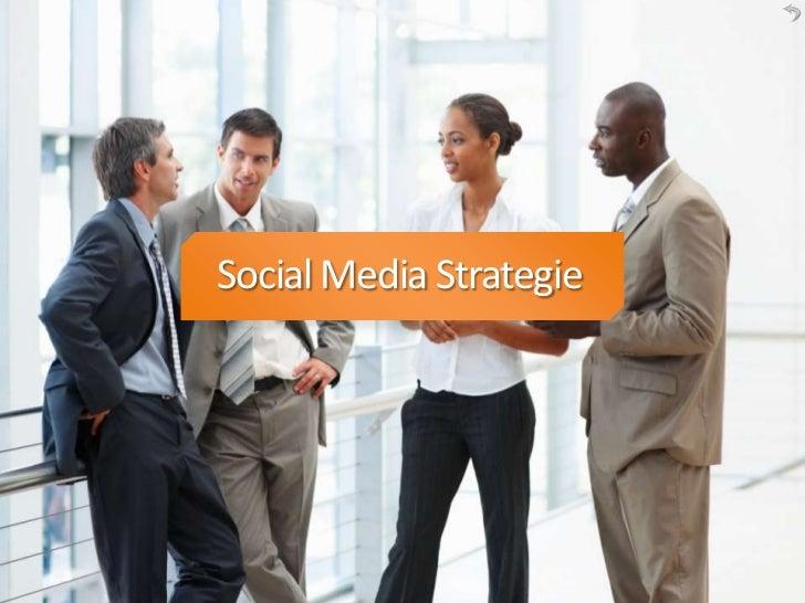 Titelblad Social Media Strategie       Social Media Strategie