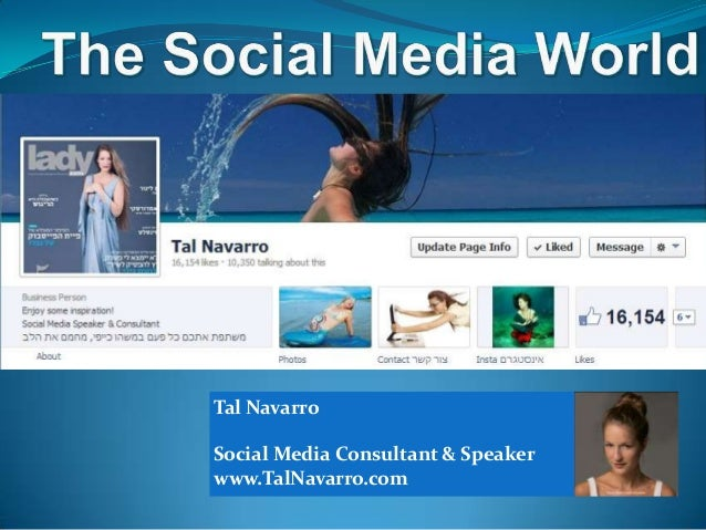Tal Navarro  Social Media Consultant & Speaker www.TalNavarro.com