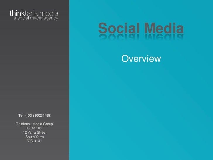 Social Media<br />Overview<br />