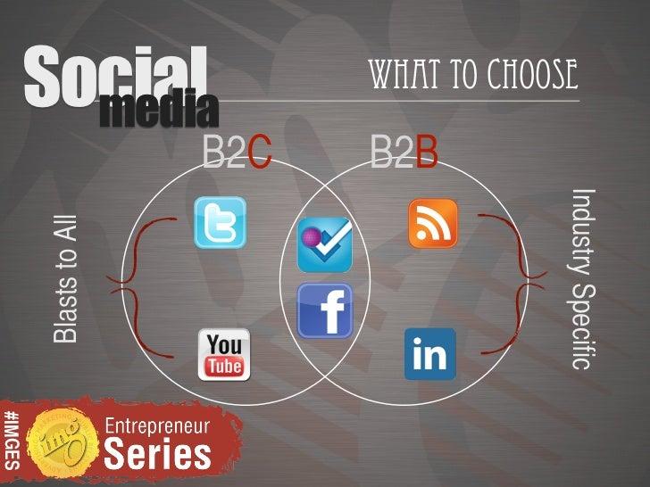 Social           media                                What To Choose                          B2C   B2B                   ...