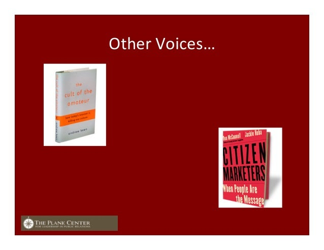 Other  Voices…