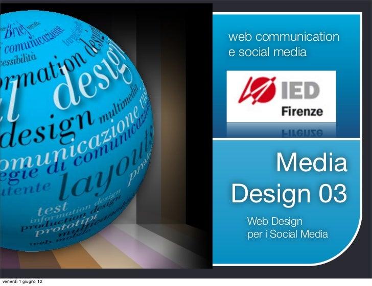 web communication                      e social media                         Media                      Design 03        ...