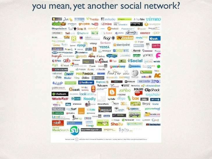you mean, yet another social network?