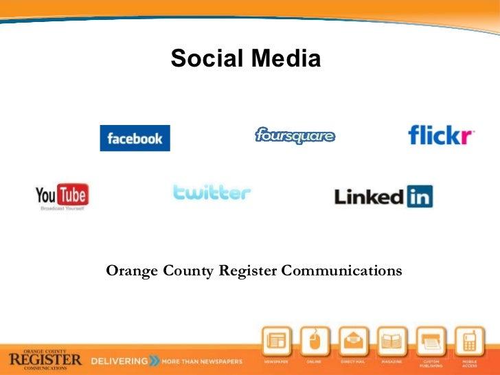 Social Media  Orange County Register Communications