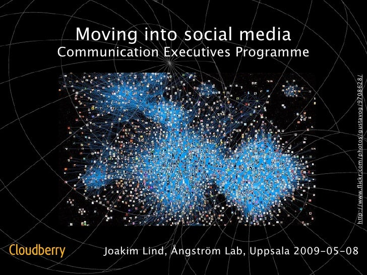Moving into social media Communication Executives Programme                                                       http://w...