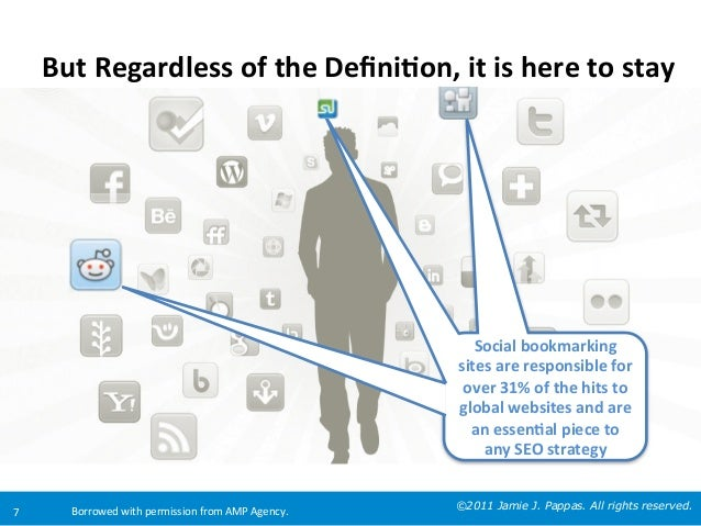 But  Regardless  of  the  Defini8on,  it  is  here  to  stay    Social  bookmarking   sites  are...