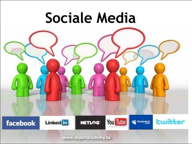 Sociale Media  www.expertacademy.be