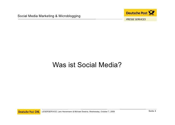 <ul><li>Was ist Social Media? </li></ul>