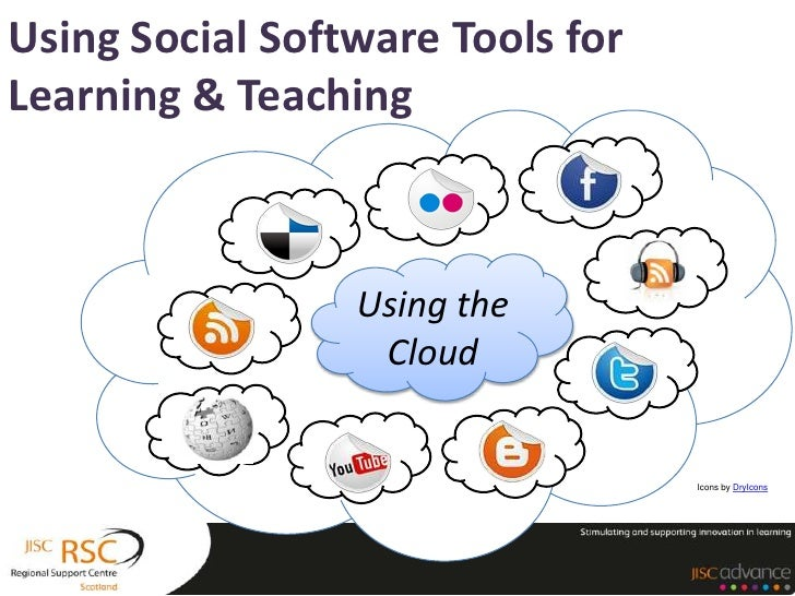 Using Social Software Tools forLearning & Teaching                 Using the                  Cloud                       ...