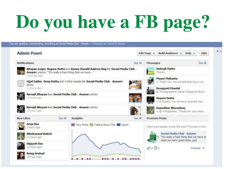 Do you have a FB page?