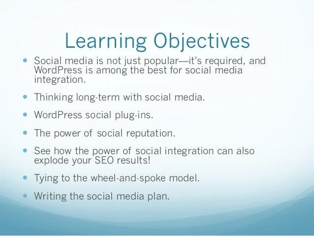 Social Media Uses for WordPress Sites  Slide 3