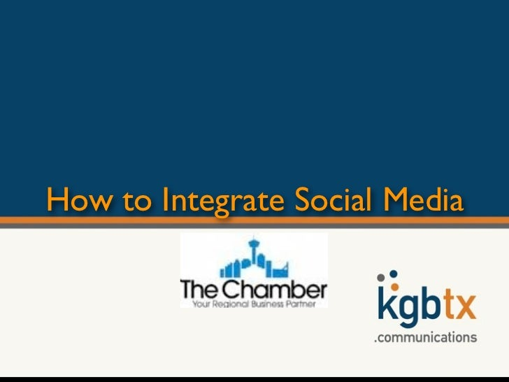 How to Integrate Social Media