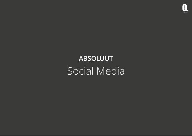 ABSOLUUT  Social Media